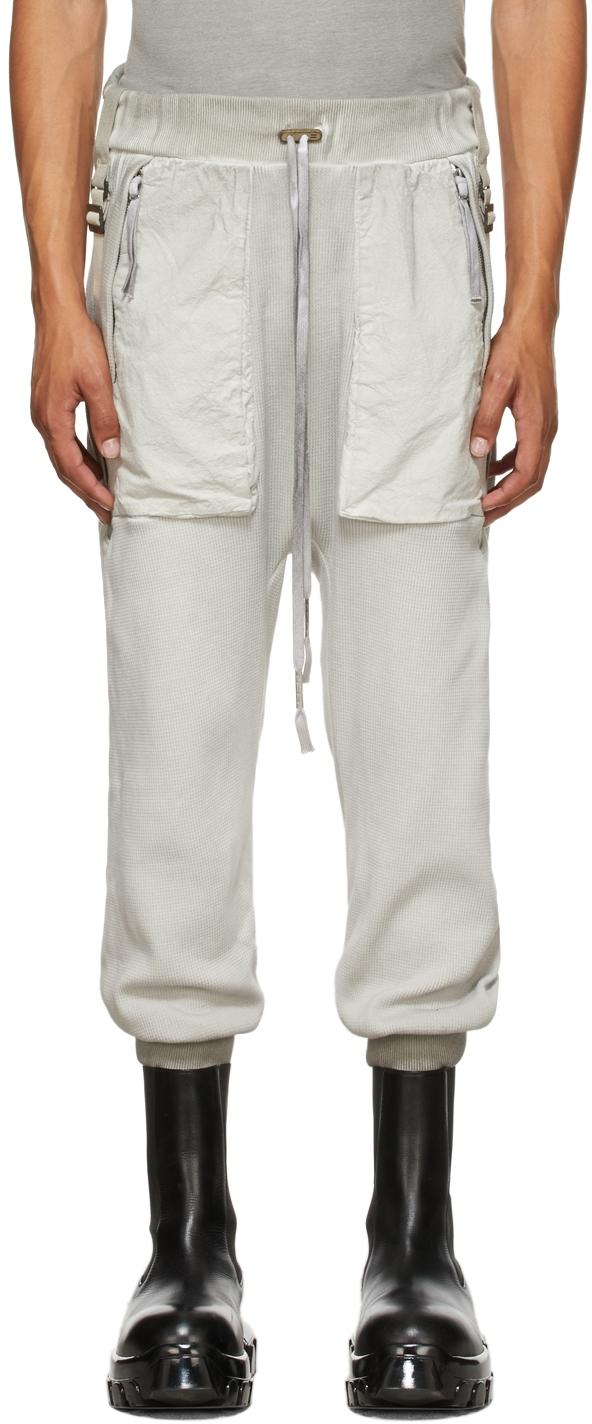 Grey Resin-Dyed P18.1 Lounge Pants
