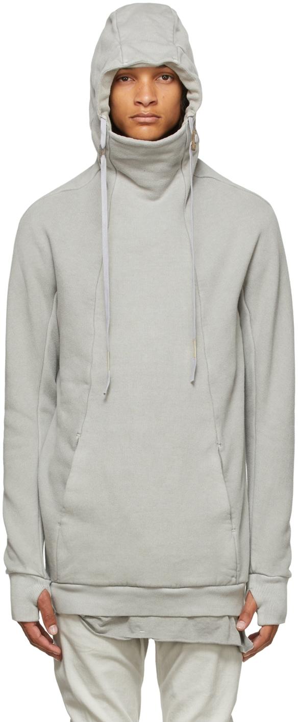 Grey Garment-Dyed Hoody2 Hoodie