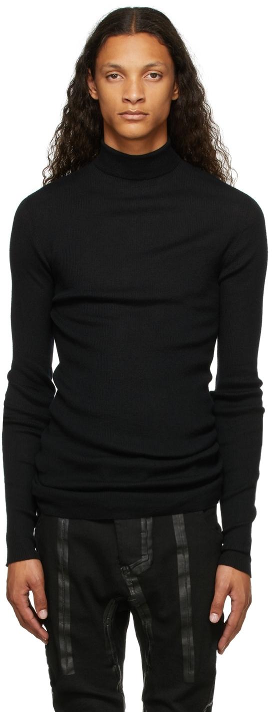 Black Cashmere KNLS2 Turtleneck