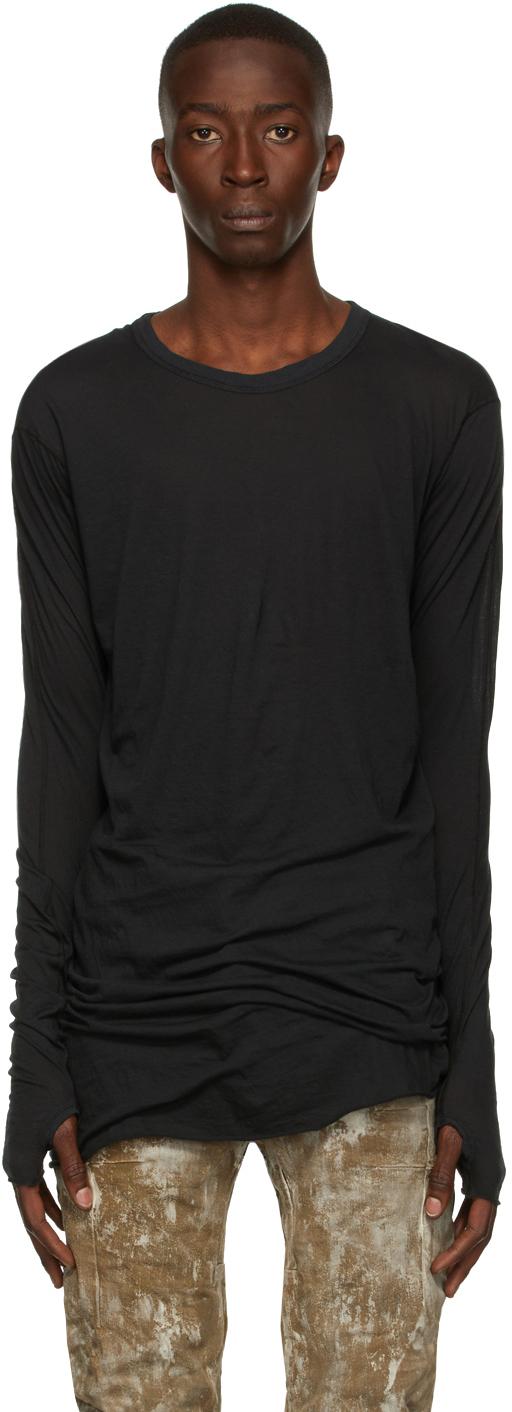 Black Jersey LS1 Long Sleeve T-Shirt