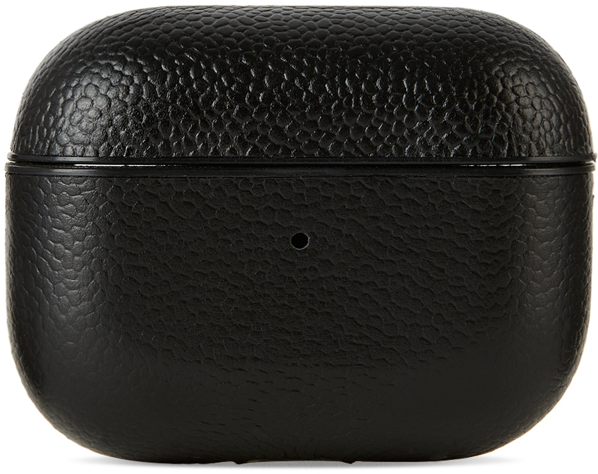 Black Leather AirPods Pro Case