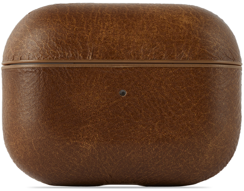 Brown Leather AirPods Pro Case