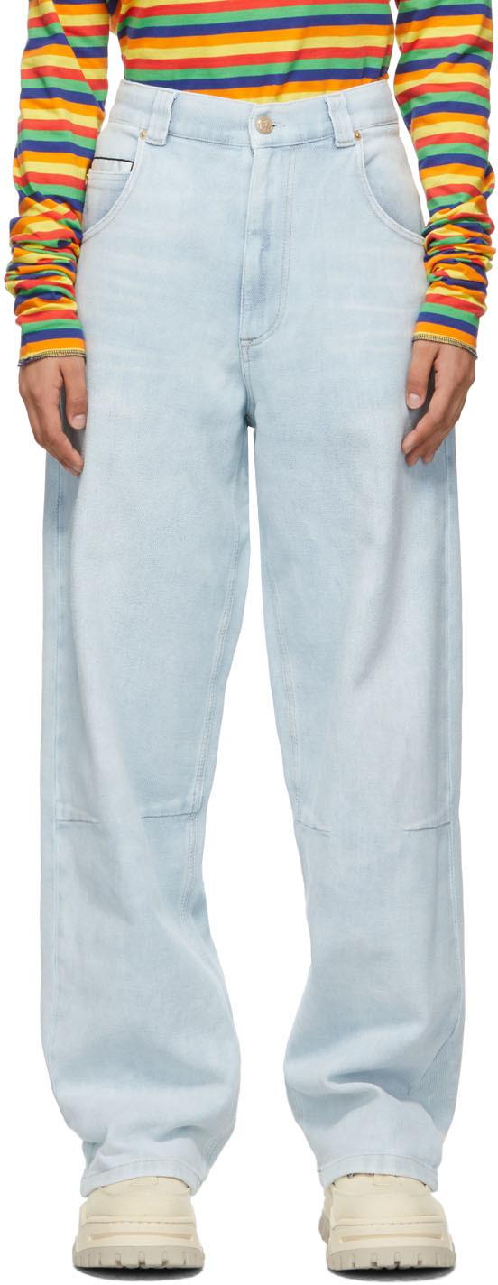 Blue Titan Baggy Jeans