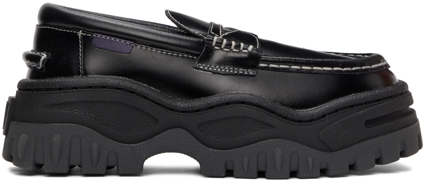 Black Angelo Loafers