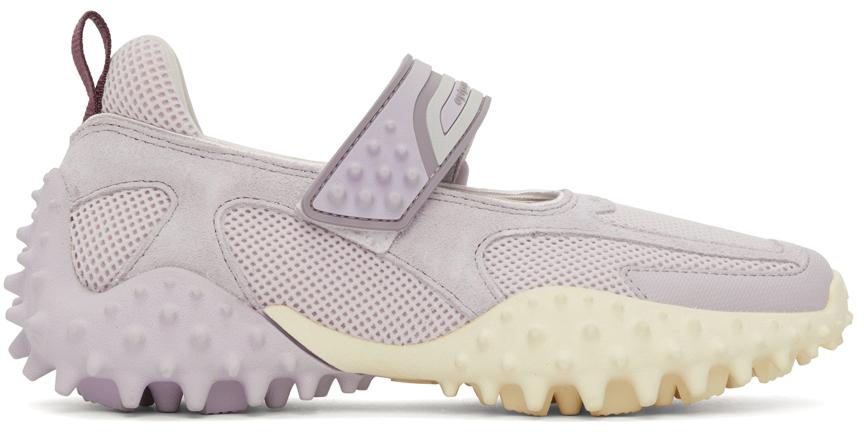 Purple Kamasu Slip-On Sneakers