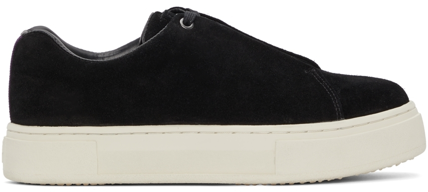 Black Suede Doja Sneakers