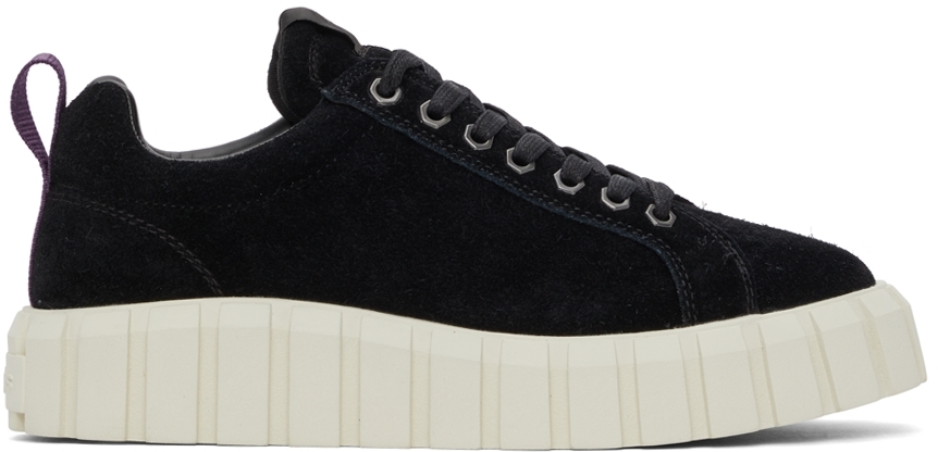 Black Suede Odessa Sneakers