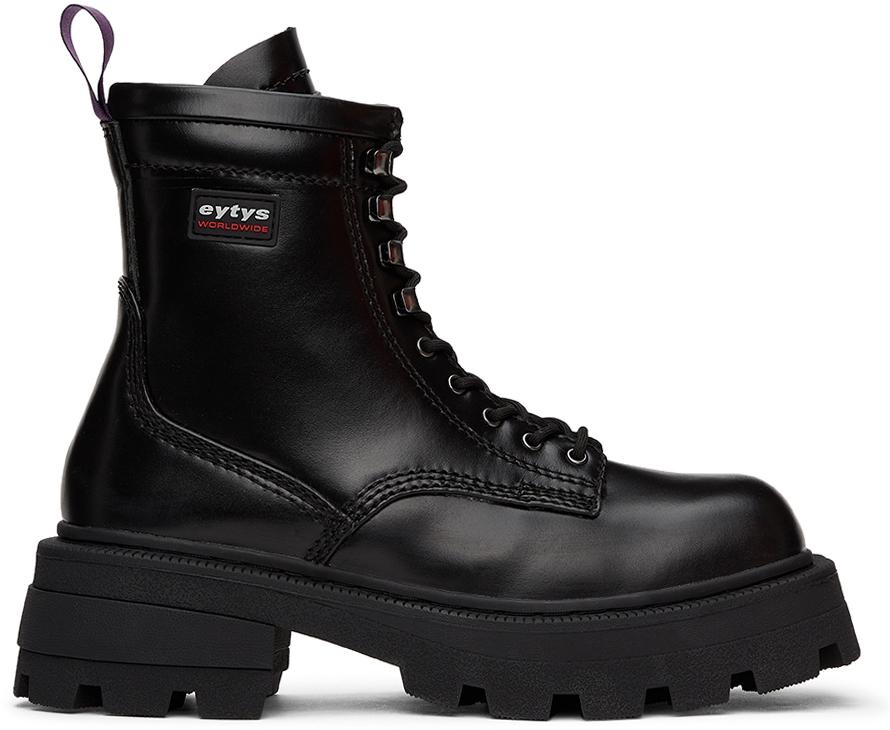 Black Michigan Boots