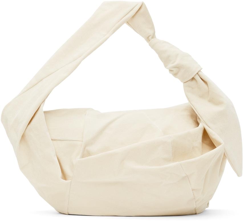 Off-White Velour Knot bag