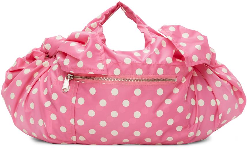 Comme des Garçons Girl Polka Dot Bow Top Handle Bag