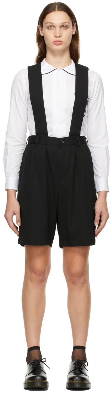 Comme des Garçons Girl Gabardine Suspender Shorts