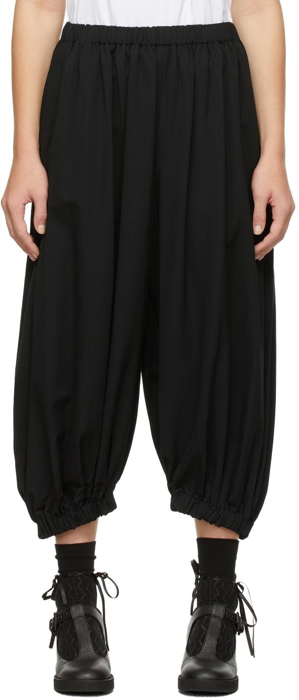 Comme des Garçons Comme des Garçons Wool Gathered Gabardine Trousers
