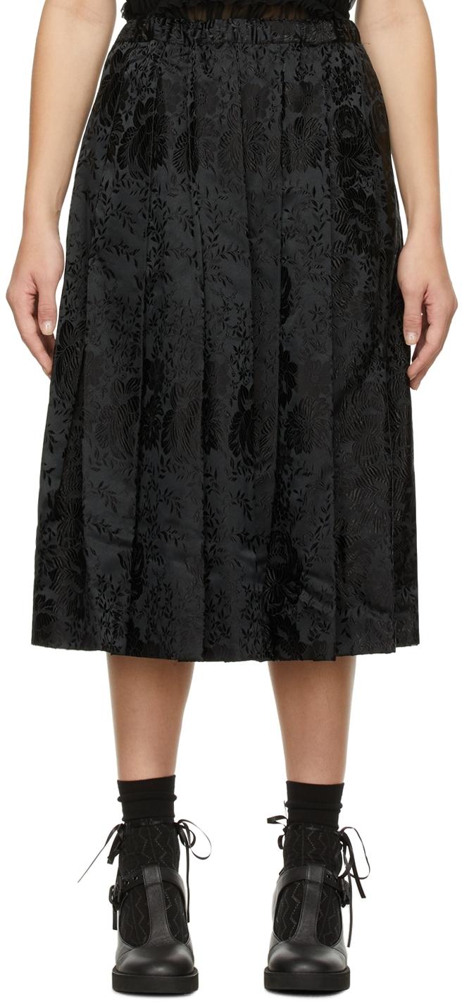Comme des Garçons Comme des Garçons Jacquard Drawstring Skirt