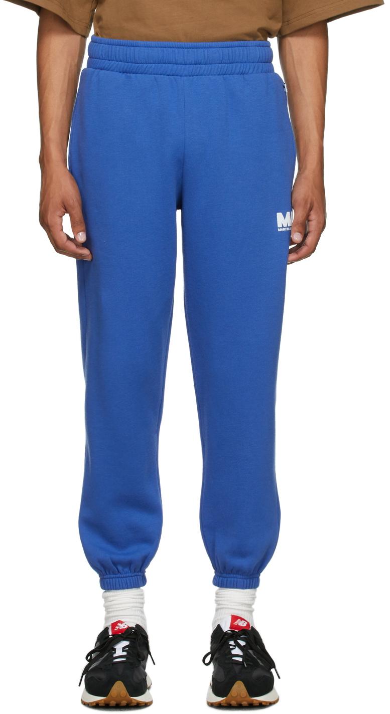 Blue 'MA' Lounge Pants