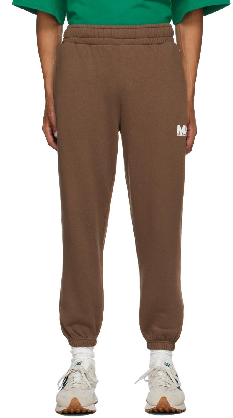Brown 'MA' Lounge Pants