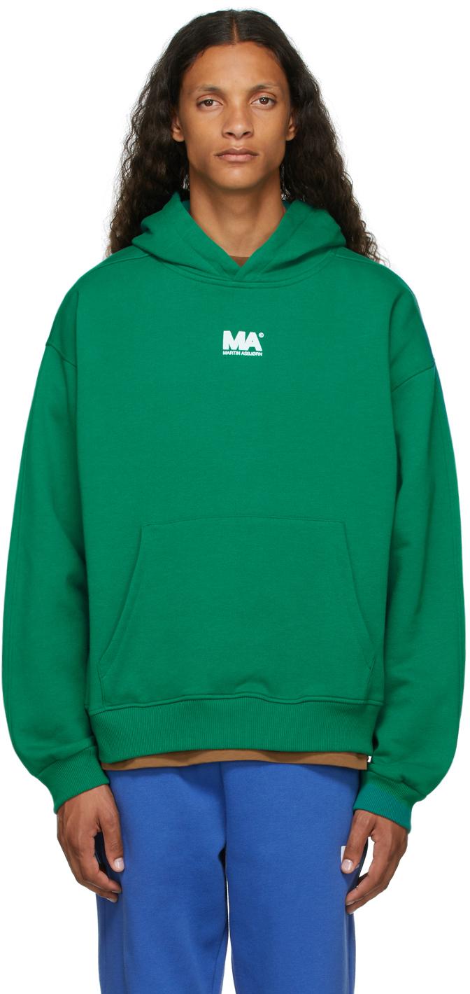 Green 'MA' Hoodie