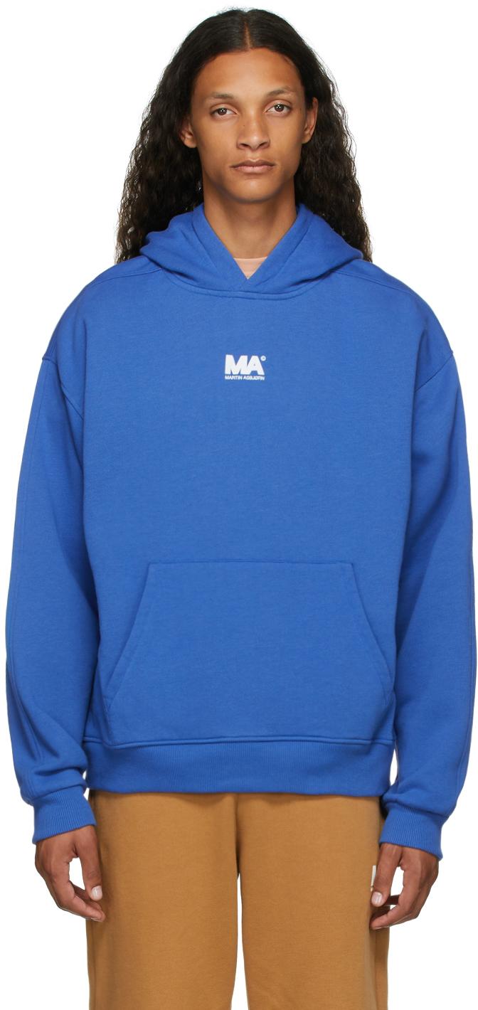 Blue 'MA' Hoodie