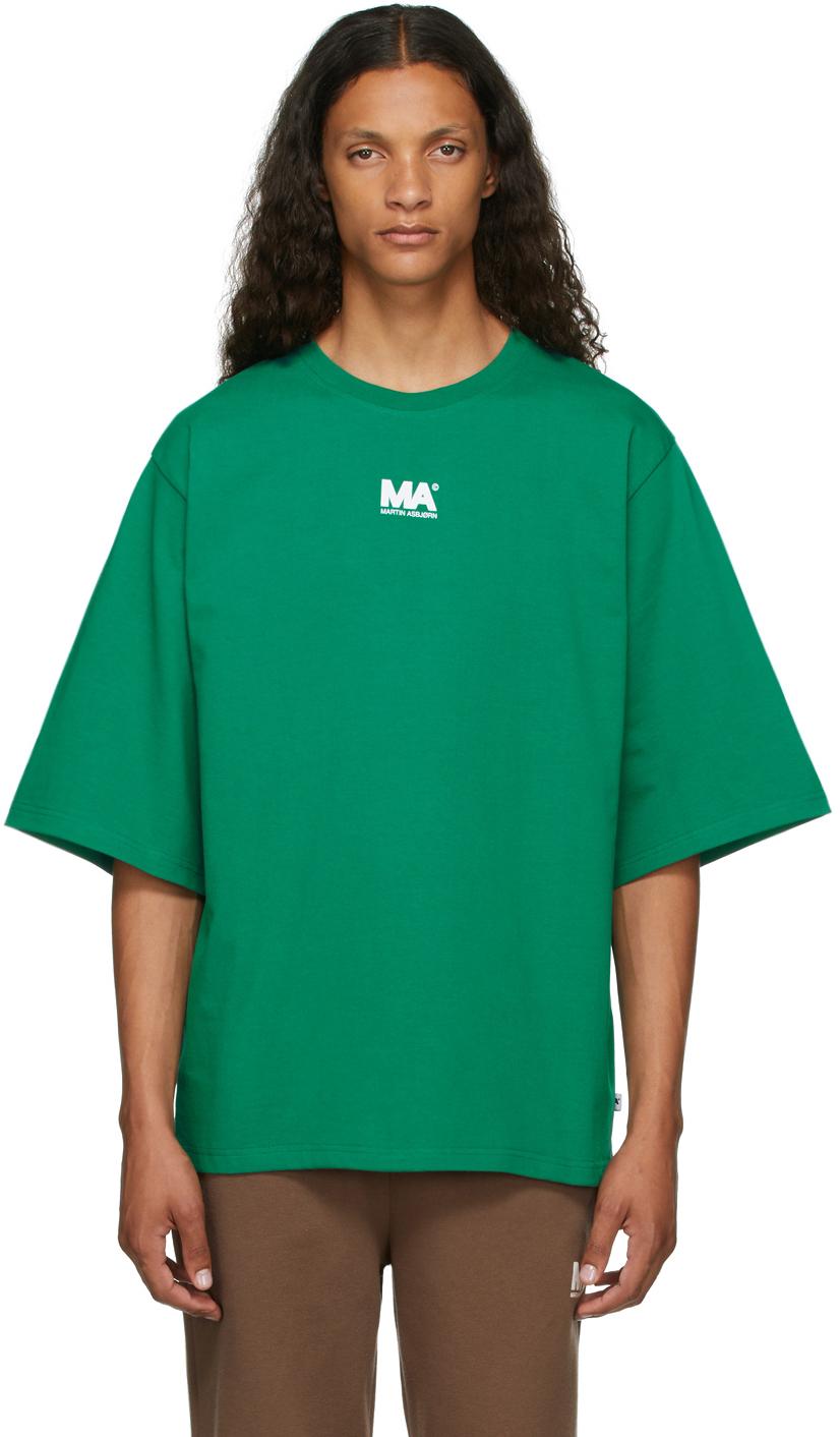 Green 'MA' T-Shirt