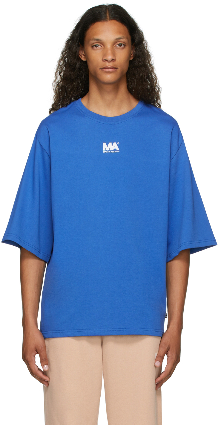 Blue 'MA' T-Shirt