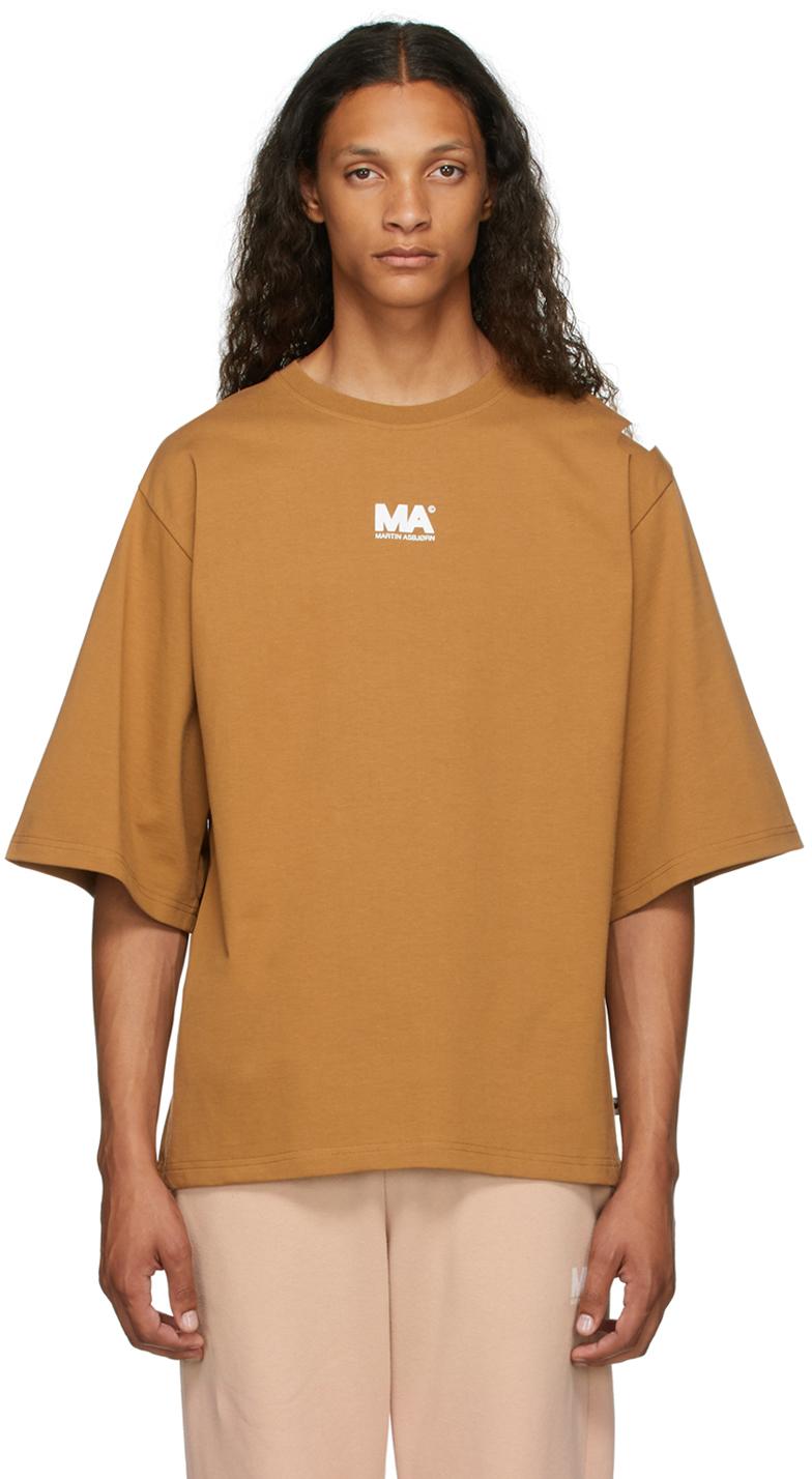 Tan 'MA' T-Shirt