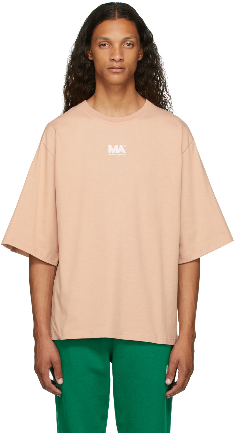 Beige 'MA' T-Shirt