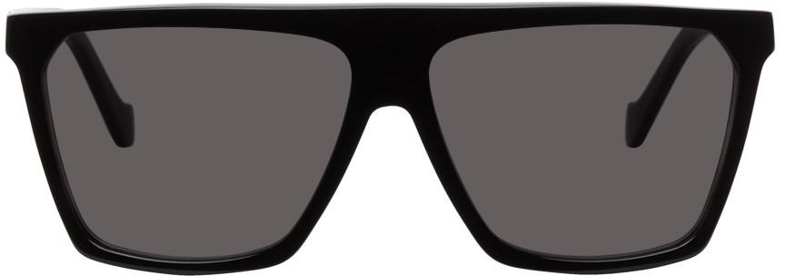 Black Square Mask Sunglasses
