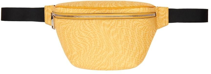 Black & Yellow FF Vertigo Belt Bag