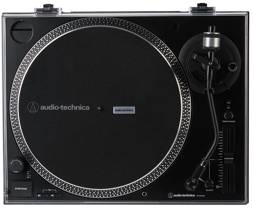 Black AT-LP120XUSB Direct-Drive Turntable