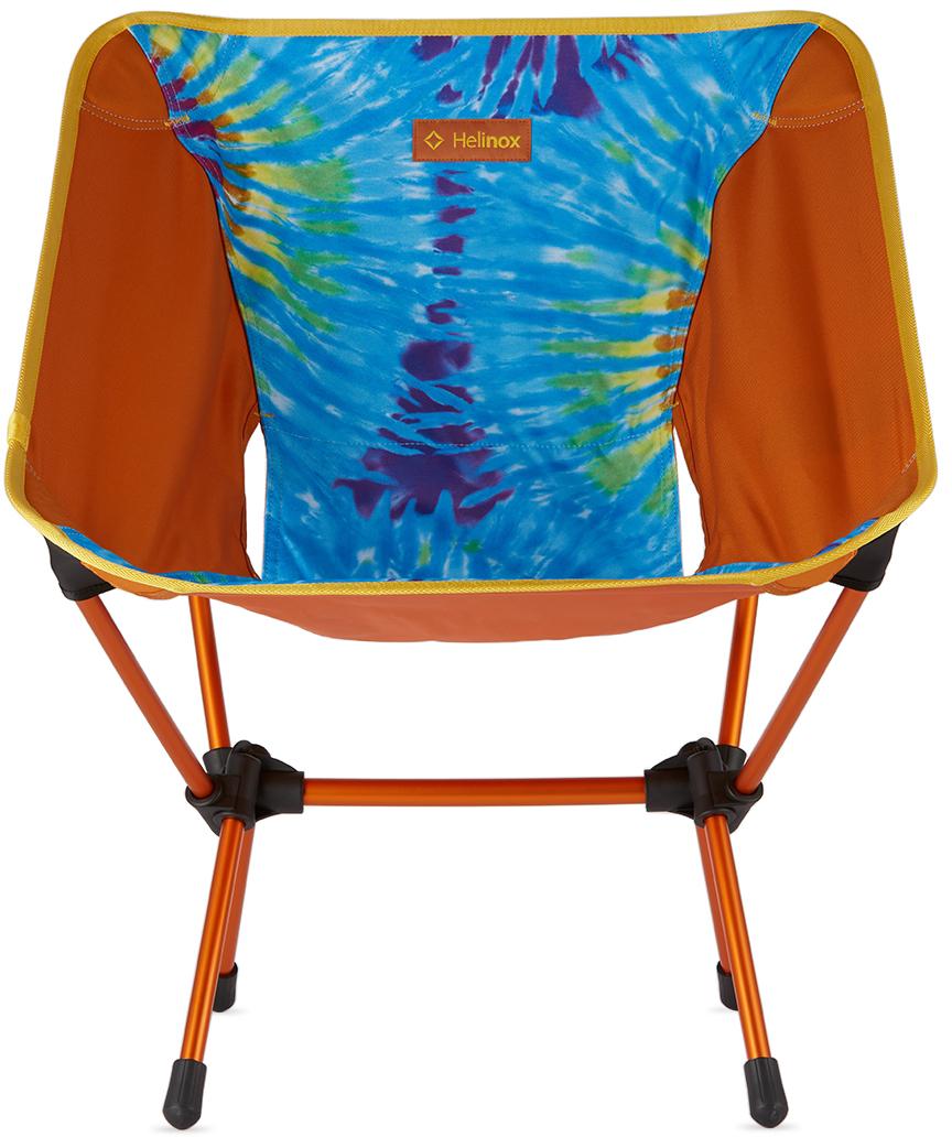 Orange Tie-Dye One Chair
