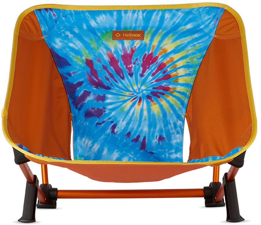 Orange Tie-Dye Incline Festival Chair