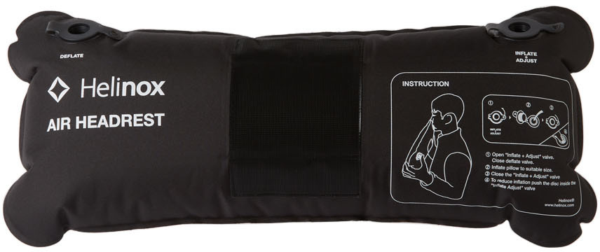 Black Inflatable Air Headrest