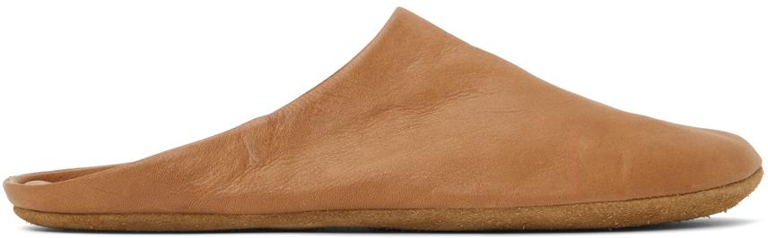 Tan Indoor Slippers