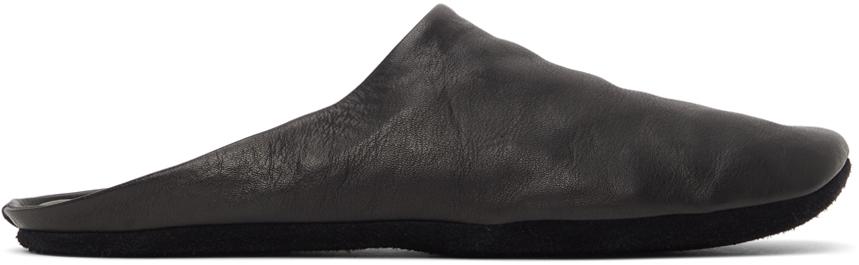 Black Indoor Slippers