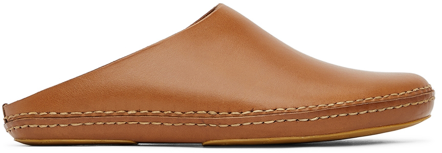 Tan Outdoor Slipper Loafers