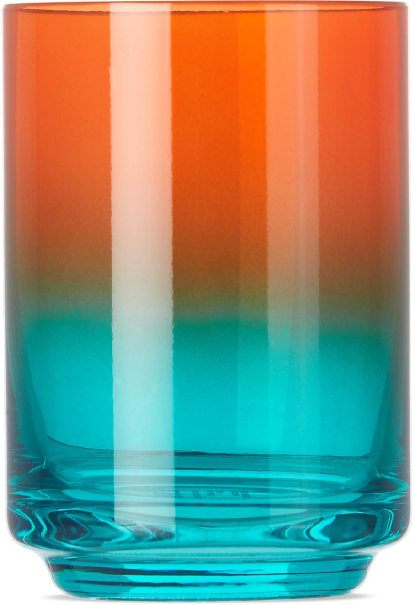 Red & Blue Malibu Gradient Glass