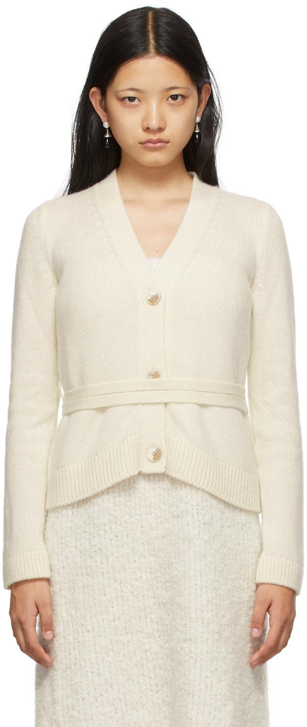 Off-White Cashmere Samira Cardigan