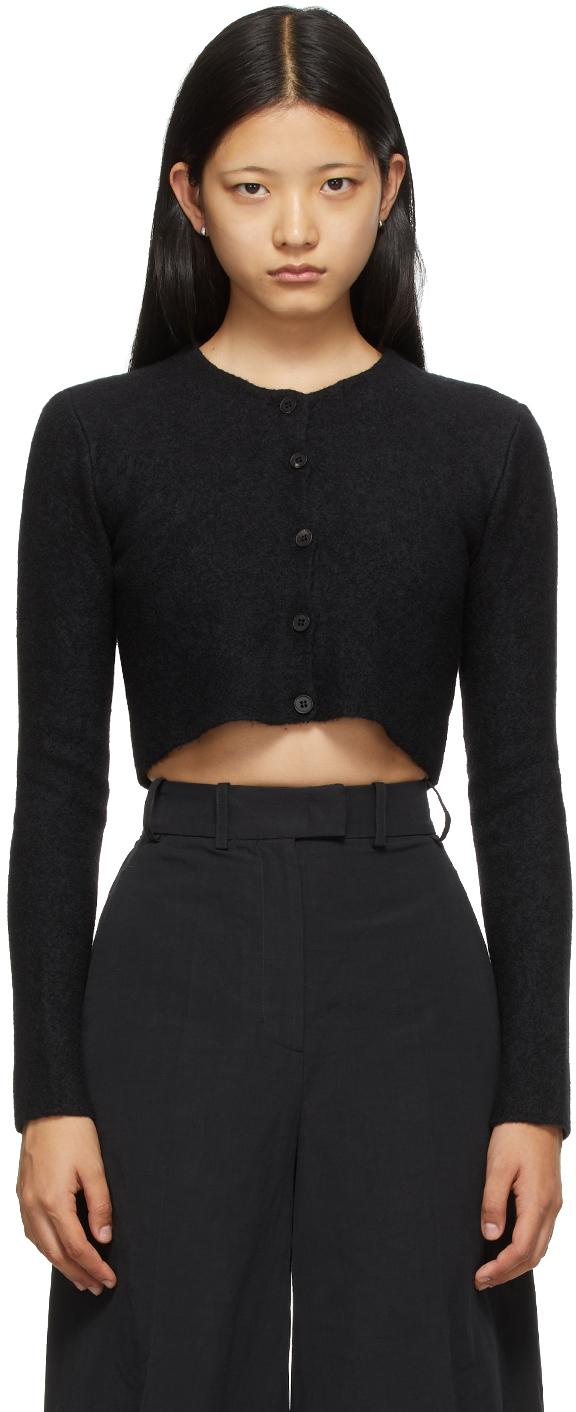 Black Cashmere Tisca Cardigan