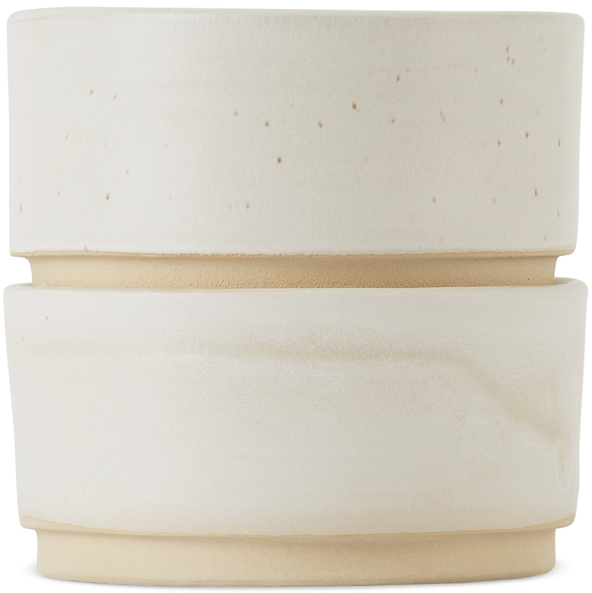 White Medium Otto Bowl Set