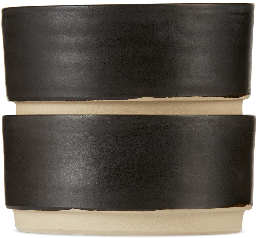 Black Medium Otto Bowl Set