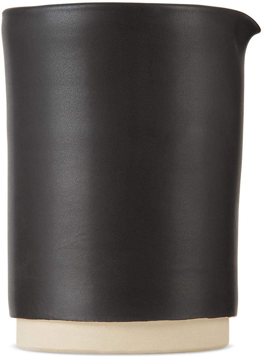 Black Large Otto Jug