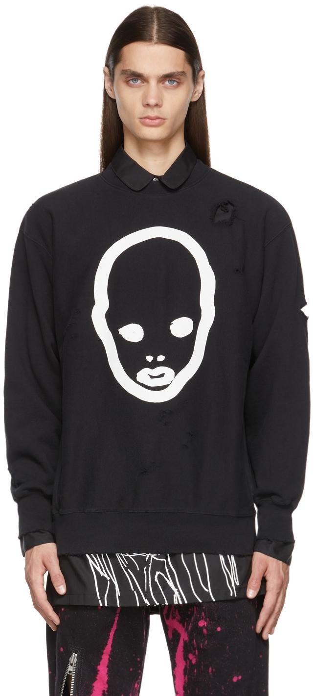 Black Cool Into Ghoul Sweatshirt