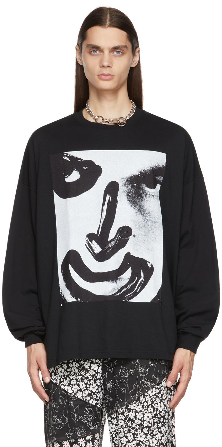 Black Jesse Joker Long Sleeve T-Shirt