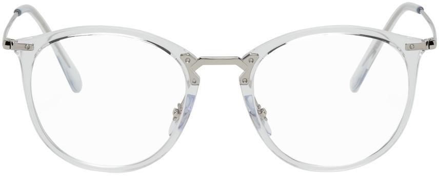 Transparent RB7140 Round Glasses