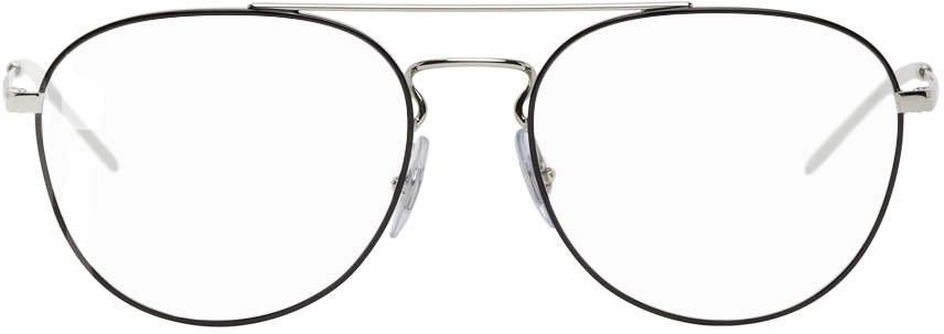 Silver RB6414 Glasses