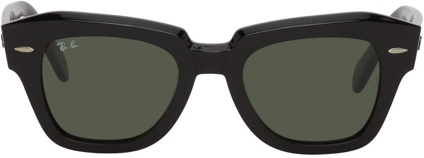 Black State Street Sunglasses