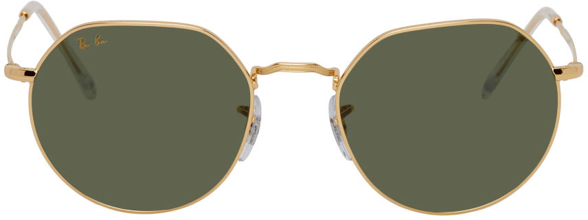 Ray-Ban Gold Jack Sunglasses