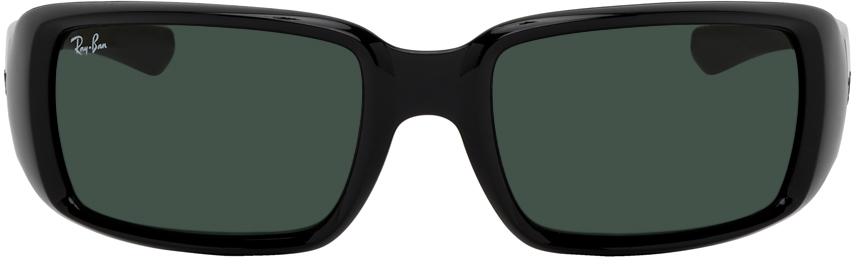 Black RB4338 Rectangular Sunglasses