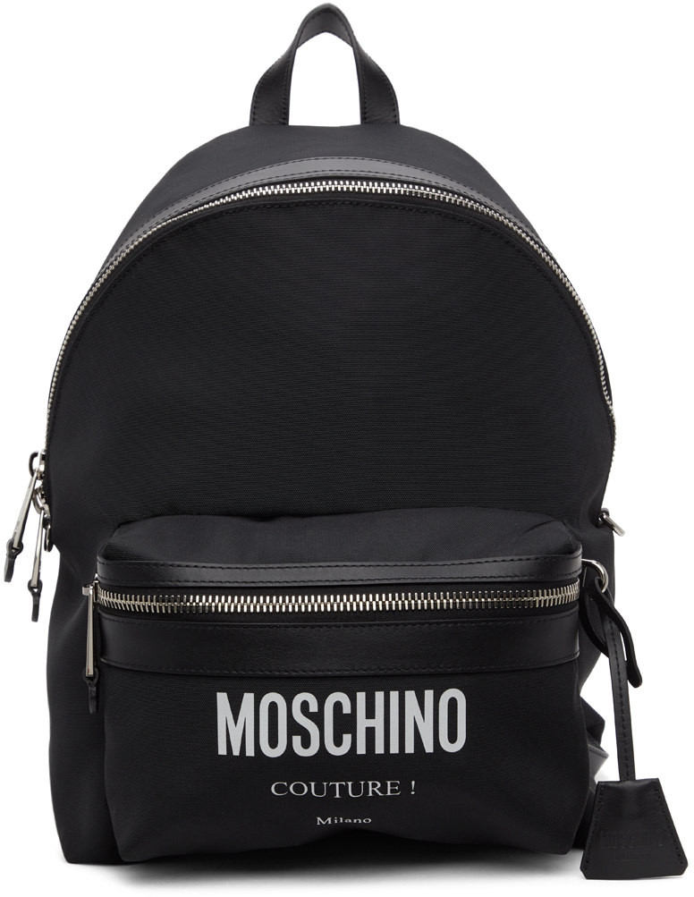 Black Canvas 'Couture!' Backpack