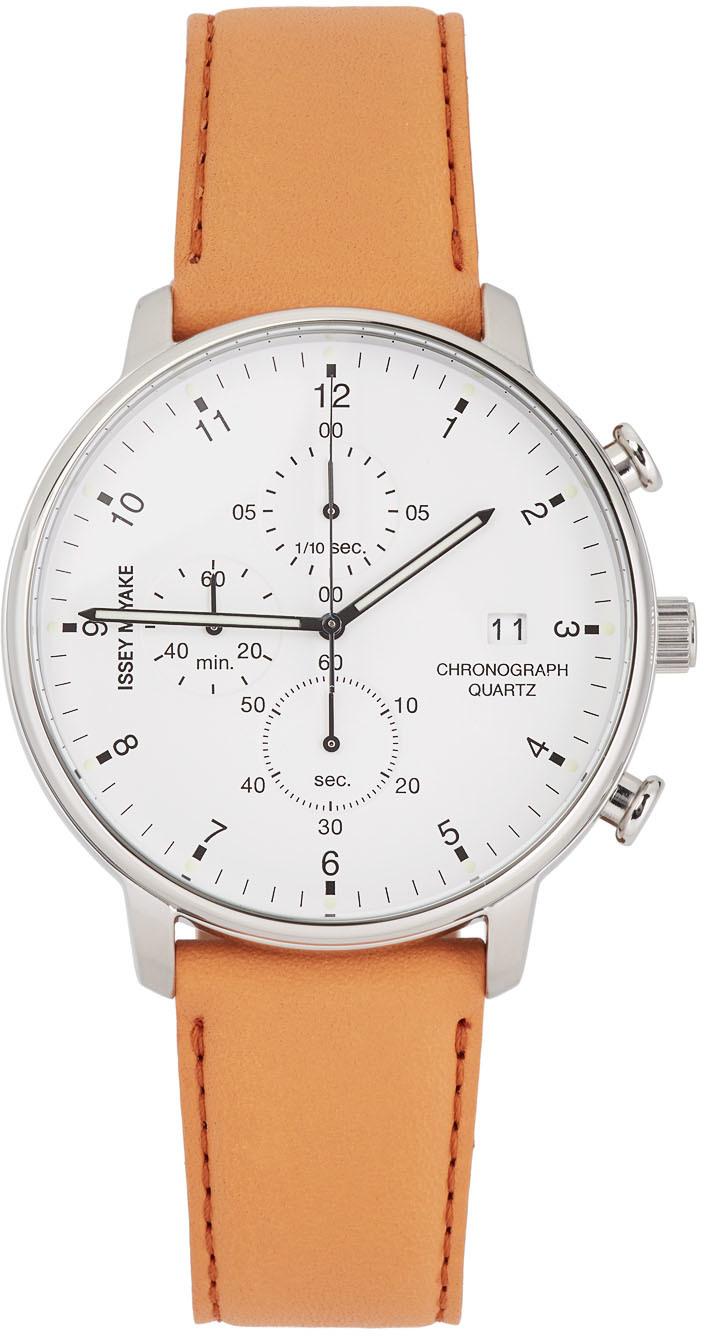 White & Tan C Model Watch