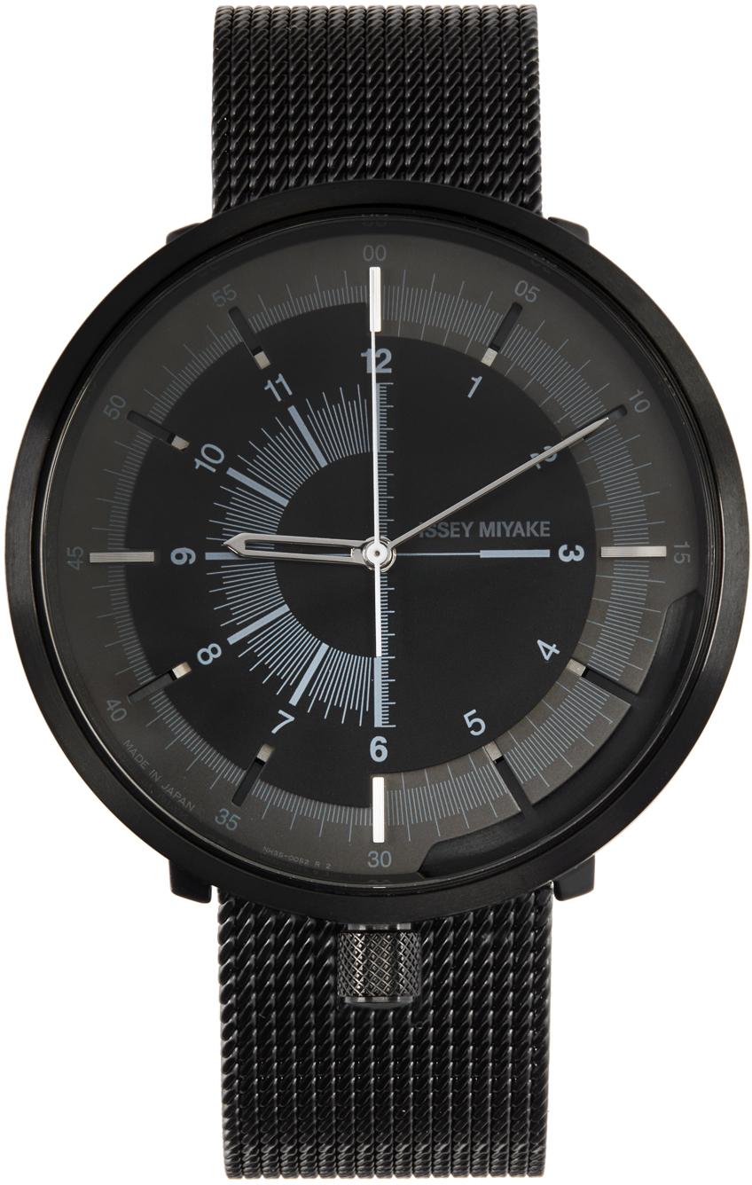 Black 1/6 Model Watch